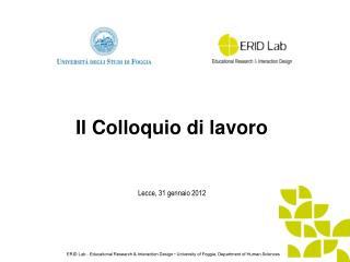 Lecce, 31 gennaio 2012