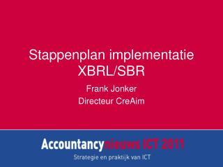 Stappenplan implementatie XBRL/SBR