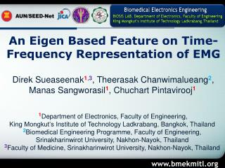An Eigen Based Feature on Time-Frequency Representation of EMG