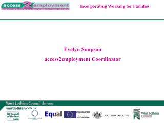 Evelyn Simpson access2employment Coordinator