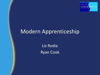 Modern Apprenticeship