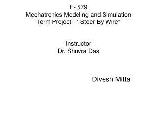 Divesh Mittal