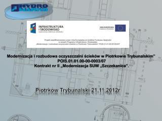 Piotrków Trybunalski 21.11.2012r