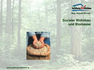 Mag. Roland Wernik: Sozialer Wohnbau und Biomasse