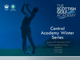 Central  Academy Winter Series