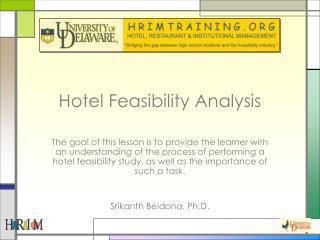 Hotel Feasibility Analysis