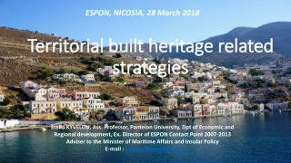 SETTLEMENT ARCHAEOLOGY AND SPATIAL ANALYSIS