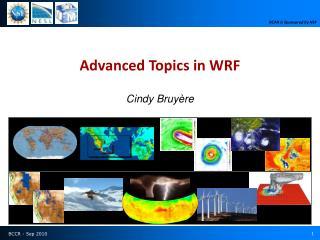 Advanced Topics in WRF