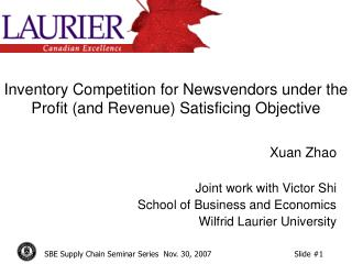 Inventory Competition for Newsvendors under the Profit (and Revenue) Satisficing Objective