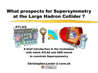 What prospects for Supersymmetry at the Large Hadron Collider ?