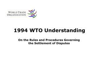 1994 WTO Understanding