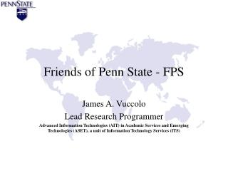 Friends of Penn State - FPS