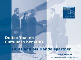 Duitse Taal en Cultuur in het MBO