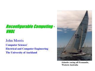 Reconfigurable Computing - VHDL