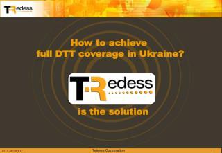 How to achieve  full DTT coverage in Ukraine?