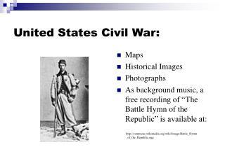 United States Civil War: