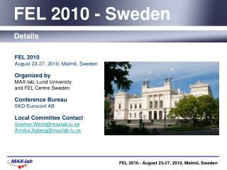 FEL 2010 - Sweden