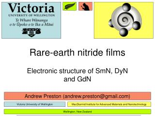 Rare-earth nitride films