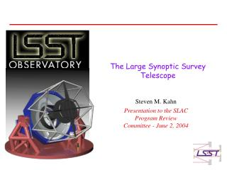 The Large Synoptic Survey Telescope