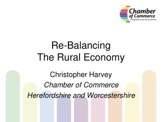 Re-Balancing  The Rural Economy