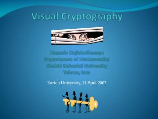 Zurich University,  11 April  2007
