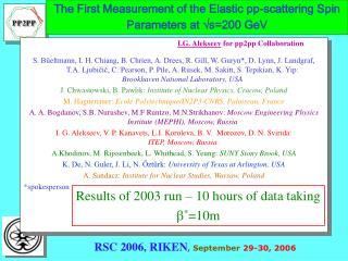 The First Measurement of the Elastic pp-scattering Spin Parameters at   s =200 GeV