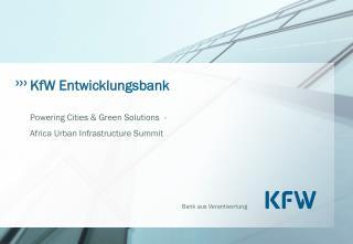 KfW Entwicklungsbank