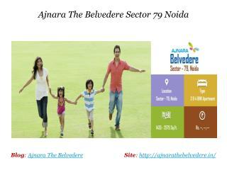 Ajnara The Belvedere 3 and 4 BHK
