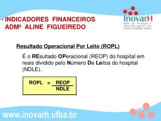 Resultado Operacional Por Leito (ROPL)