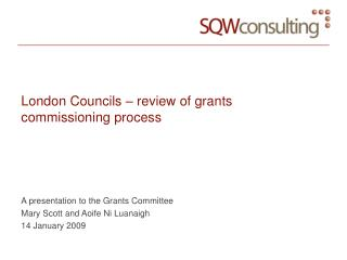 London Councils – review of grants commissioning process