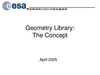 Geometry Library: The Concept
