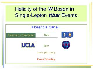 Helicity of the  W  Boson in  Single-Lepton  ttbar  Events