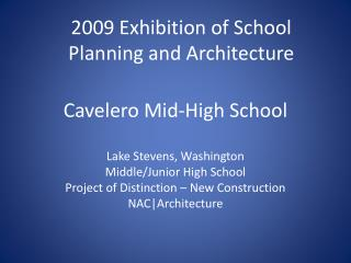 Cavelero Mid-High School