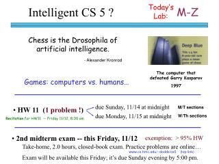 Intelligent CS 5 ?