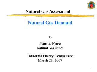 Natural Gas Assessment