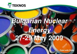 Bulgarian Nuclear Energy 27-29 May 2009