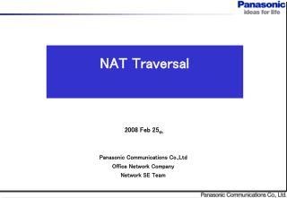 NAT Traversal