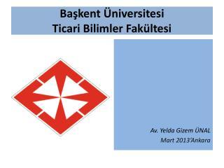 Başkent Üniversitesi Ticari Bilimler Fakültesi
