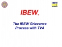 IBEW   The IBEW Grievance Process with TVA