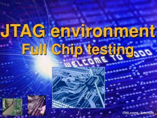 JTAG environment Full Chip testing