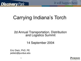 Carrying Indiana's Torch