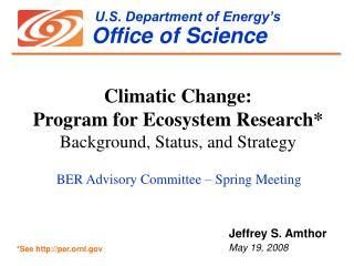 U.S. Department of Energy's Office of Science