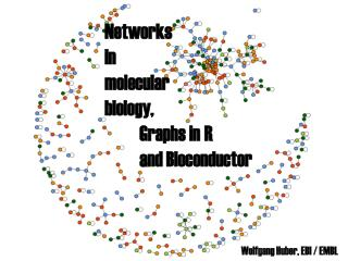 N etworks  in  m olecular biology ,  	Graphs in R  	and Bioconductor