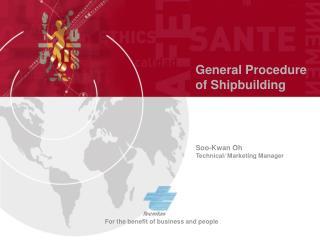 General Procedure of Shipbuilding