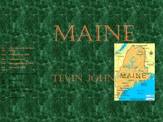 Maine Tevin Johnson