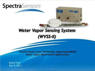 Water Vapor Sensing System (WVSS-II)
