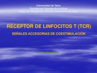 RECEPTOR DE LINFOCITOS T (TCR)