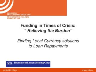 Agenda Introduction  Risks related to MF Investments  The Post Lehman's period