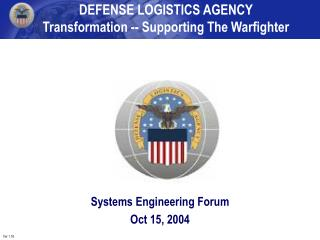 Systems Engineering Forum  Oct 15, 2004