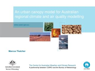 An urban canopy model for Australian regional climate and air quality modelling